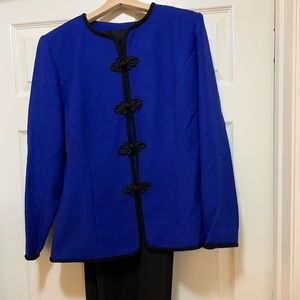 POWER SUIT! COBALT BLUE! NWT!